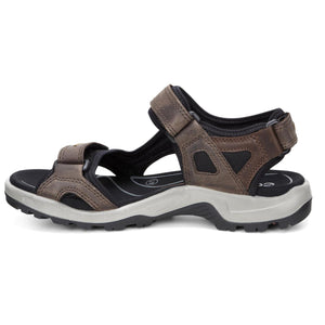 Ecco Yucatan Sandal - Espresso / Cocoa Brown / Black side
