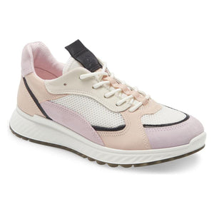 Ecco St.1 Sneaker - Blossom Rose / Black / White / Rose Dust