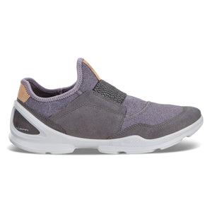 Ecco Biom Street Strap Sneaker - Magnet / Light Purple