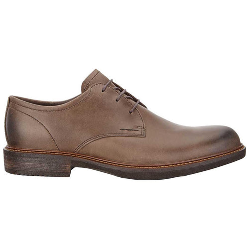 Ecco Kenton Lace Dress Shoe - Dark Clay