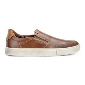 Ecco Kyle Slip On Sneaker - Cocoa Brown