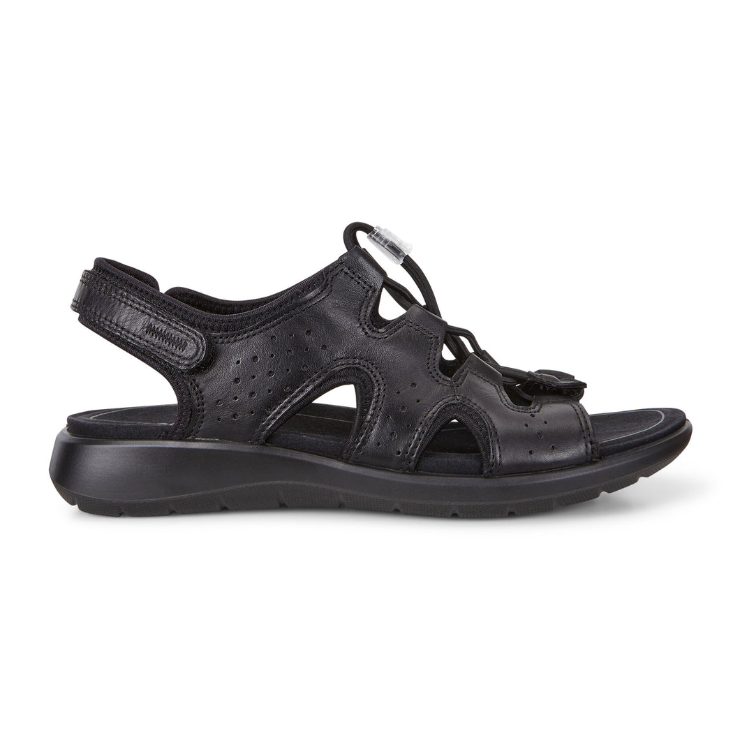 Ecco Soft 5 Toggle Sandal - Black