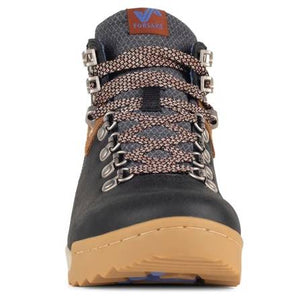 Forsake Patch Hiking Boot - Black / Tan Front