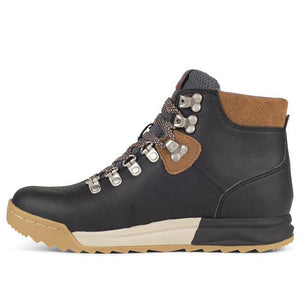 Forsake Patch Hiking Boot - Black / Tan side