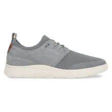 Johnston & Murphy Farley Plain Toe - Gray Oiled Nubuck / Knit Mesh right