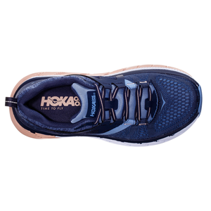 Hoka One One Gaviota 2 Mood Indigo Dusty Pink Top