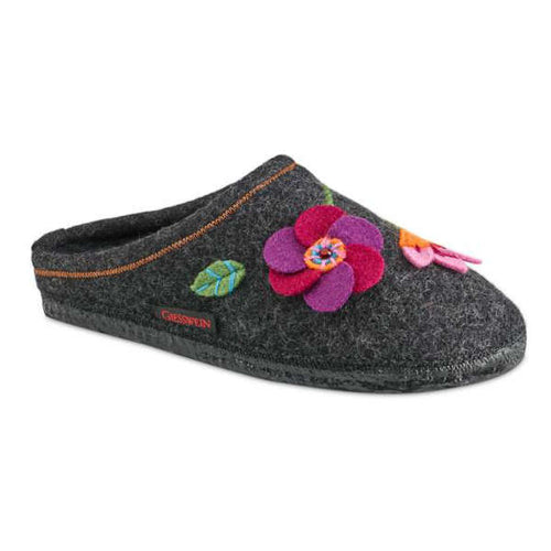 Giesswein Flora Slipper - Charcoal