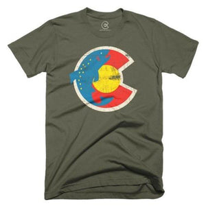 Yo Colorado Gone Fishin' T-Shirt
