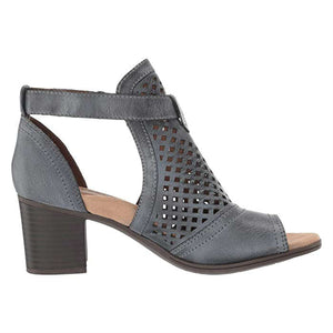 Rockport Hattie Hi Cuff Sandal - Black Haze Side