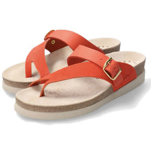 Mephisto Helen Mix Sandal - Coral Perf pair
