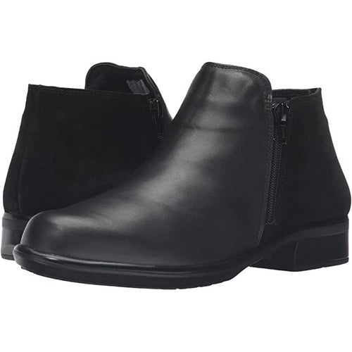 Naot Helm Ankle Boot - Black