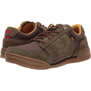 Teva Highside Sneaker - Dark Olive / Brown