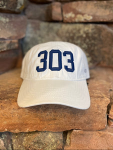 303 Dad Hat - White