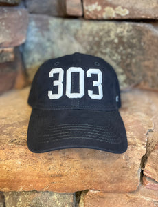303 Dad Hat - Navy