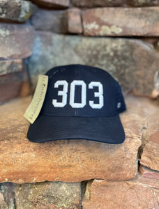 303 Trucker Hat - Navy