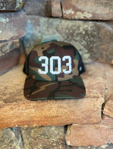 303 Trucker Hat - White