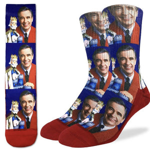 Good Luck Socks Men's Mr. Rogers