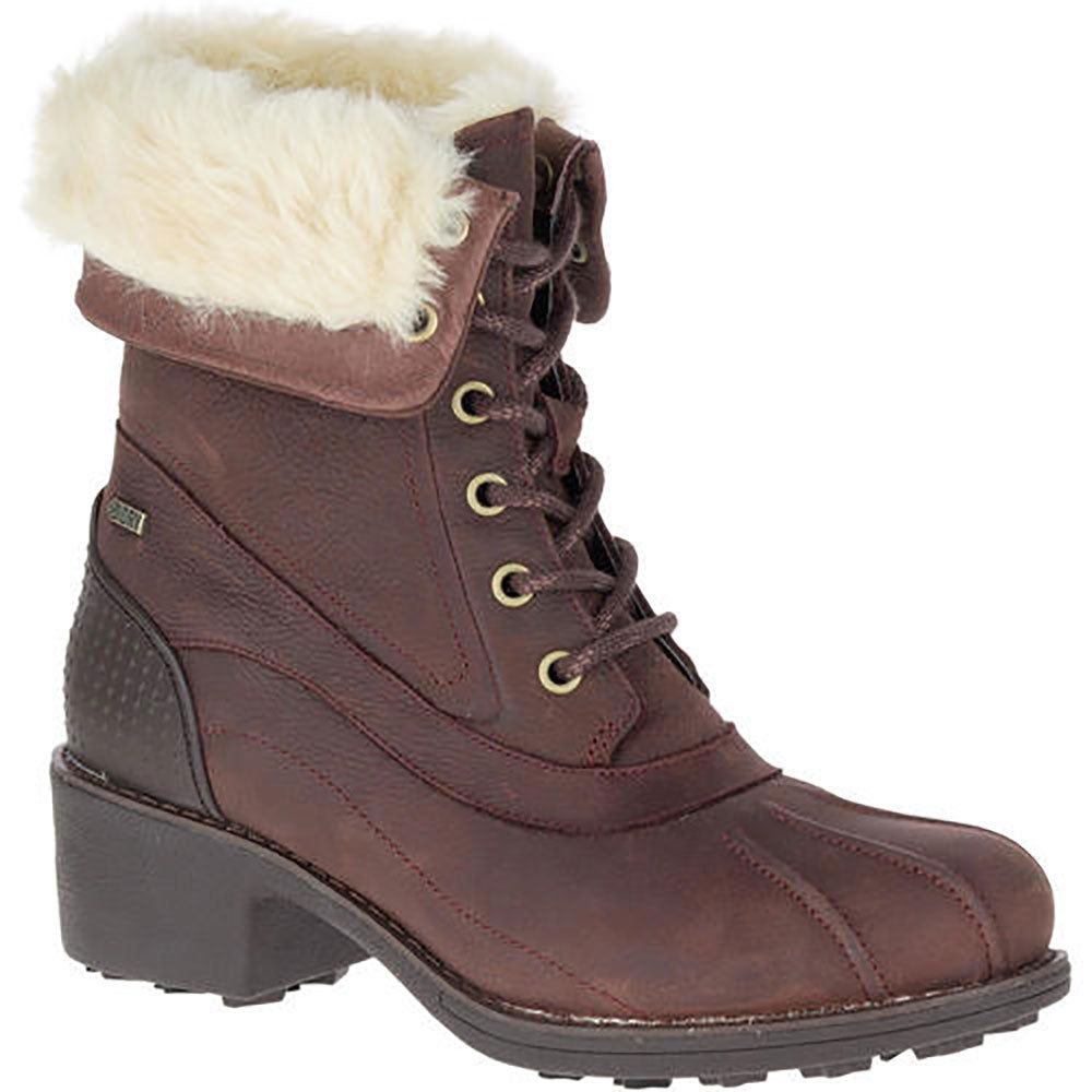 Merrell Chateau Mid Lace Polar Waterproof Boot - Brunette