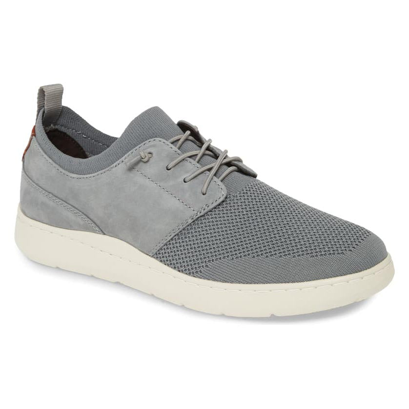 Johnston & Murphy Farley Plain Toe - Gray Oiled Nubuck / Knit Mesh