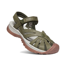 Keen Rose Sandal Leather - Forest Night Tipped