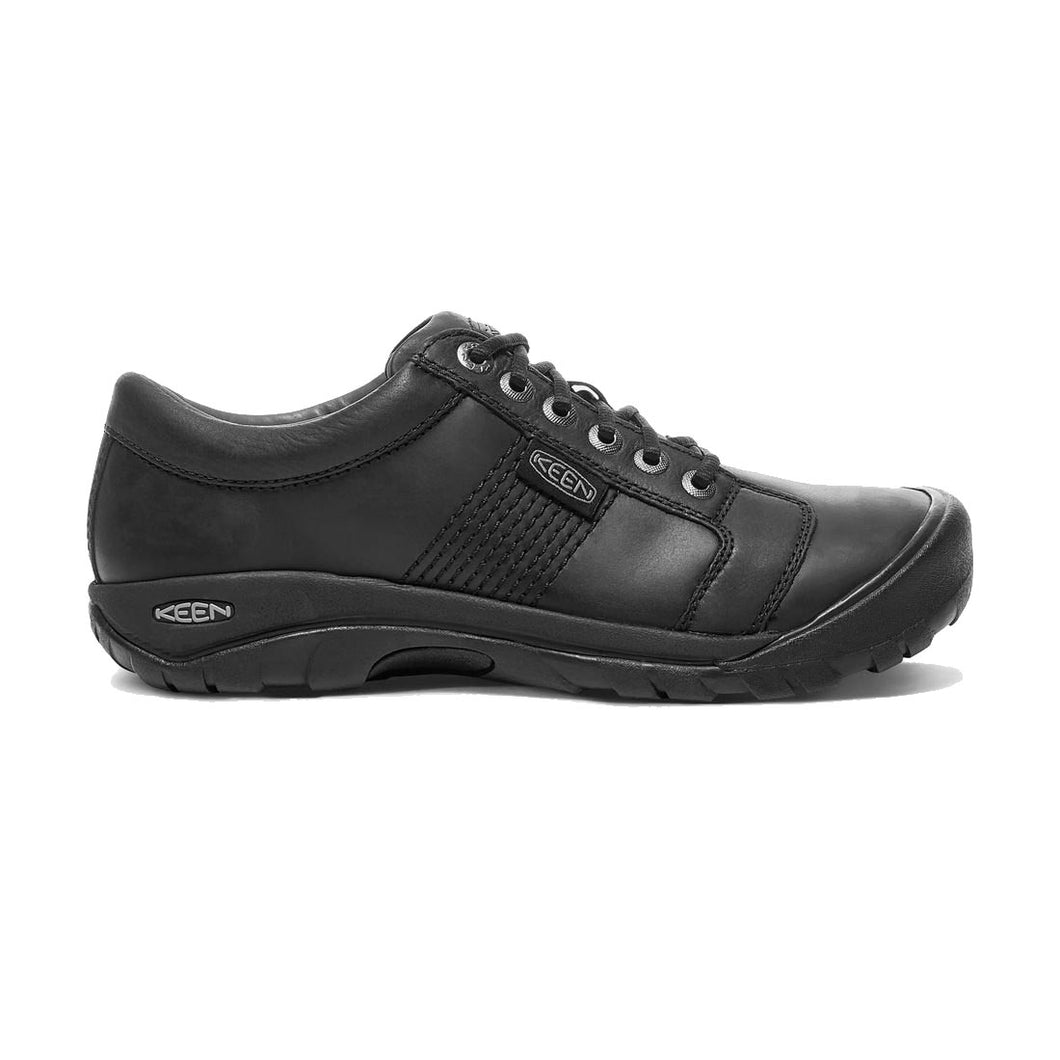 Keen Austin Lace-Up Shoe - Black