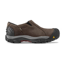 Keen Brixen Waterproof Low Slip-On - Slate Black / Madder Brown