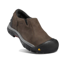 Keen Brixen Waterproof Low Slip-On - Slate Black / Madder Brown 2