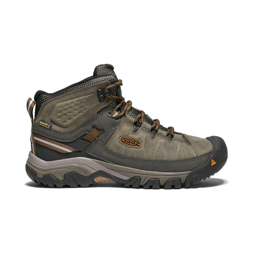 Keen Targhee III Waterproof Mid Hiking Boot - Black Olive / Golden Brown