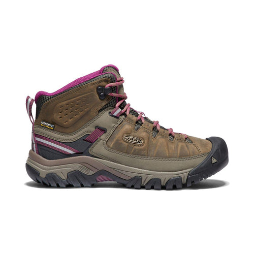 Keen Targhee III Waterproof Mid Hiking Boot - Weiss / Boysenberry