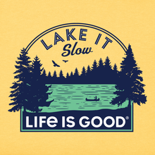 Life is Good - Lake it Slow Crusher Tee