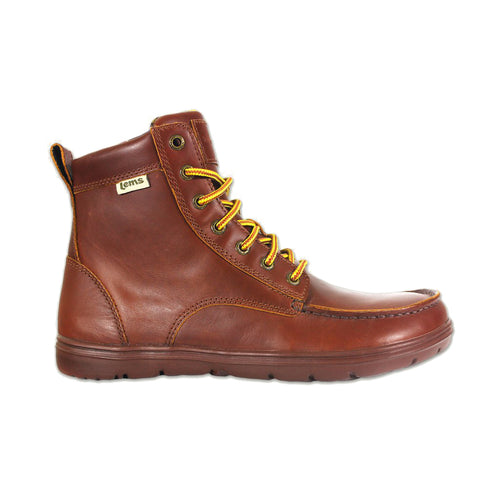Lems Boulder Boot Leather - Russet