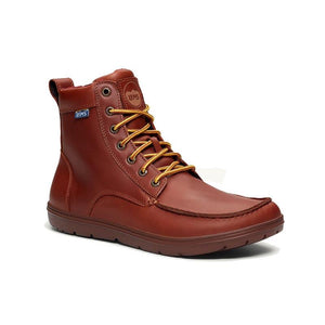 Lems Boulder Boot Leather - Russet angle