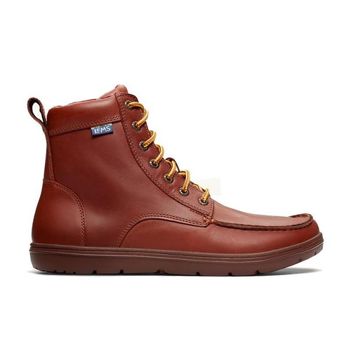 Lems Boulder Boot Leather - Russet side