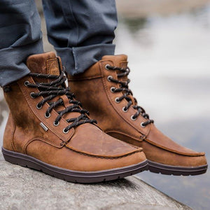 Lems Waterproof Boulder Boot - Weathered Umber