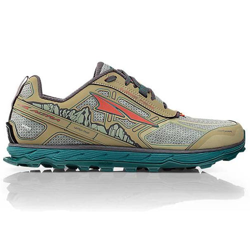 Altra Lone Peak Waterproof Green - Profile