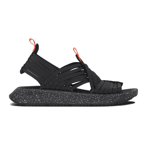 Malibu Rancho Sandal - Black / Black / Orange