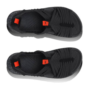Malibu Rancho Sandal - Black / Black / Orange Top