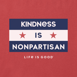 Life Is Good - Kindness is Nonpartisan T-Shirt