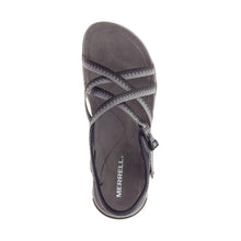 Merrell District Muri Lattice Sandal - Black / Charcoal