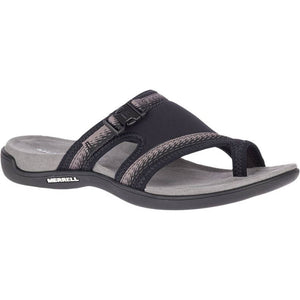 Merrell District Muri Wrap Sandal - Black / Charcoal