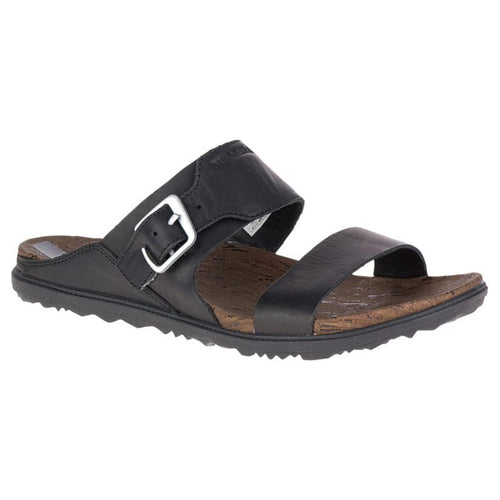 Merrell Around Town Buckle Slide Sandal - Black