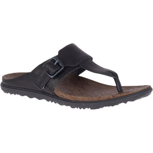 Merrell Around Town Luxe Post Sandal - Black