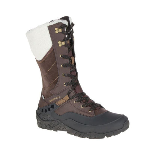 Merrell Aurora Tall Ice+ Waterproof Boot - Espresso
