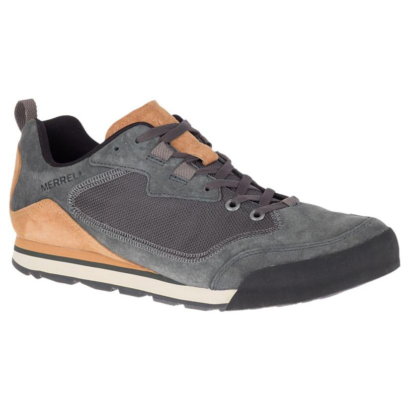 Merrell Burnt Rock Travel Suede Sneaker - Granite