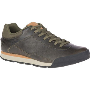 Merrell Burnt Rocked Leather Sneaker - Dusty Olive