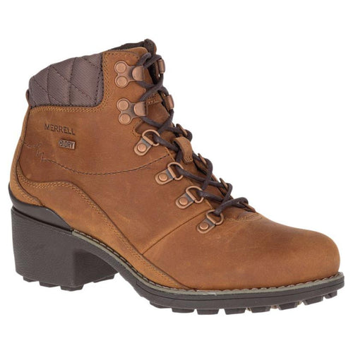 Merrell Chateau Mid Lace Waterproof Boot - Merrell Oak