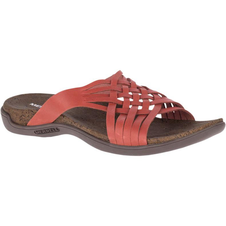 Merrell District Mahana Slide Sandal - Redwood