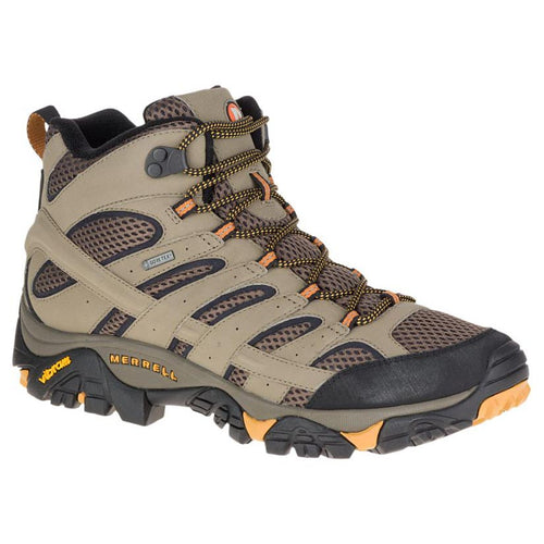 Merrell Moab 2 Mid Gore-Tex Hiking Boot - Walnut