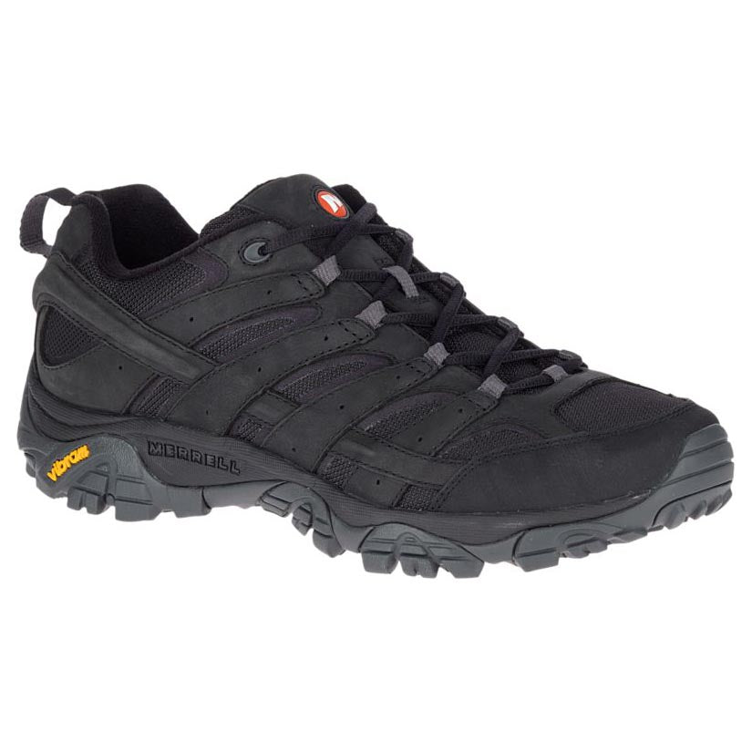 Merrell Moab 2 Smooth Hiking Shoe - Black
