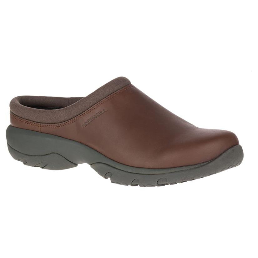 Merrell Encore Rexton Slide Leather AC+ - Dark Earth